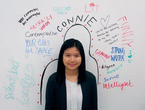 Senior column Connie Ho