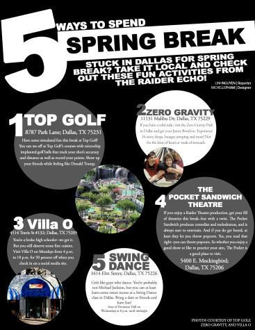 5 ways to spend Spring Break