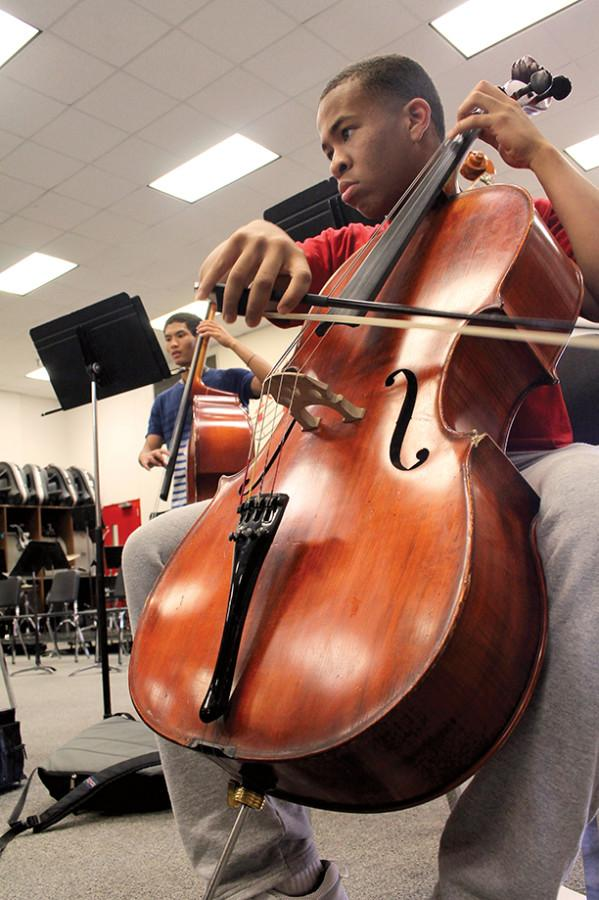 Competition of Compositions; Orchestra assignment challenges students to create, arrange songs