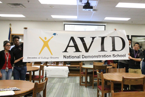 School named AVID National Demonstration school