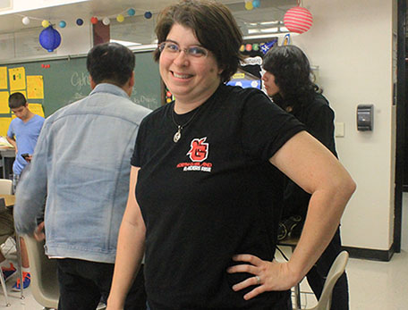 English teacher Mrs. Amanda McClelland