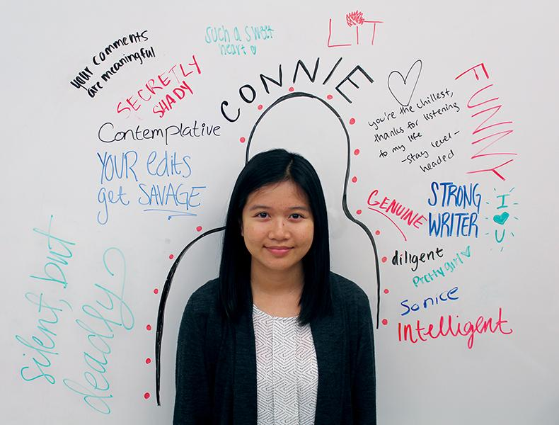 Senior column Connie Ho