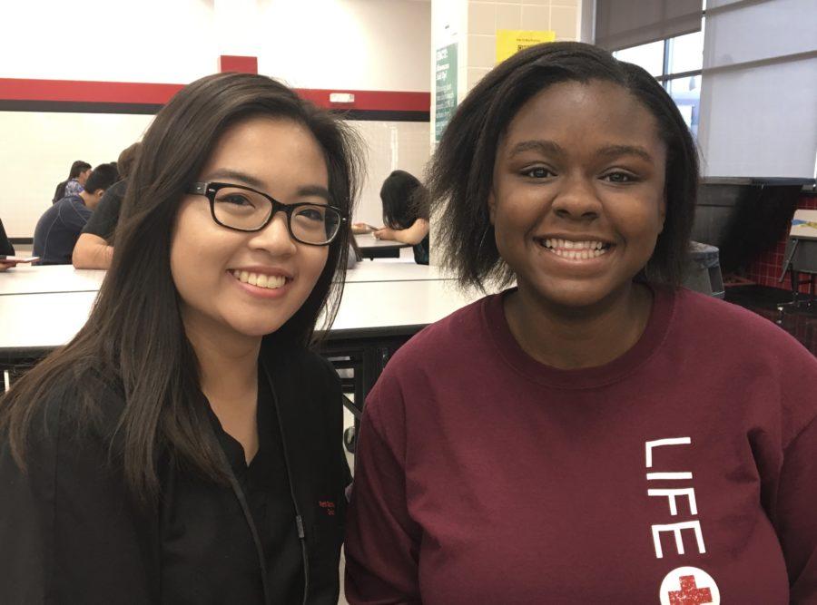 Nhu Nguyen and Stephanie Akhimien